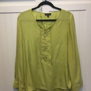 Etcetera silk blouse